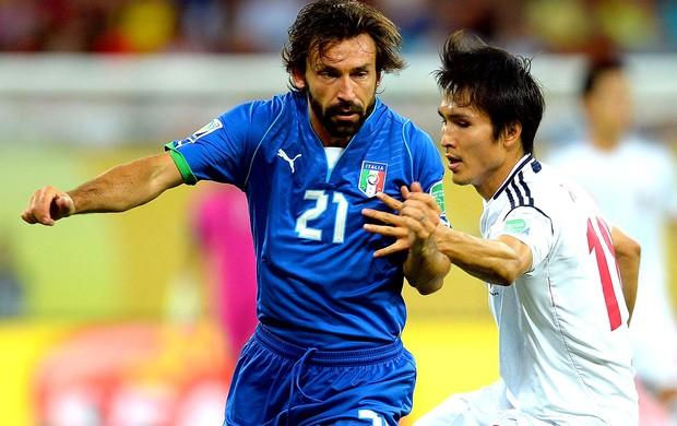Pirlo jogo Itália Japão (Foto: Getty Images)