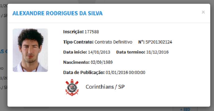 No BID, Pato volta a ser jogador do Corinthians (Foto: Reprodução)