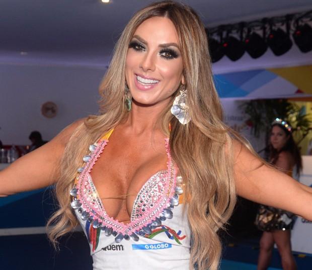 Nicole Bahls (Foto: Leo Marinho/Ed Globo)