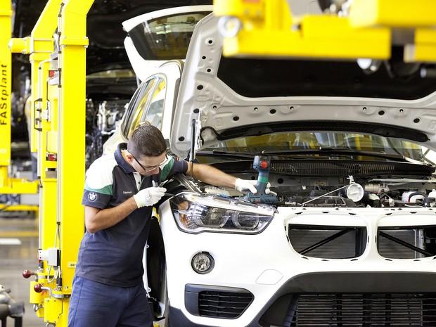 BMW X1 feito em Araquari será exportado aos Estados Unidos (Foto: Divulgação)