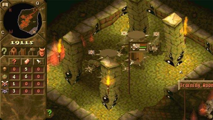Dungeon Keeper é um dos clássicos disponíveis (Foto: Divulgação)
