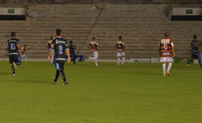 Campeonato Paraibano: Campinense e CSP não saem do 0 X 0
