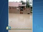 Chuva provoca alagamentos no fim de semana em Araruama, RJ