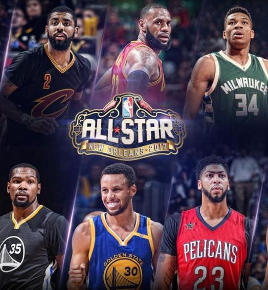 só estrelas (Divulgação / NBA)