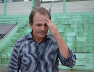 Técnico Paulo César Schardong (Foto: Jheniffer Núbia)