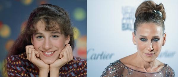 Sarah Jessica Parker tinha 12 anos quando começou na televisão (Foto: Getty Images)