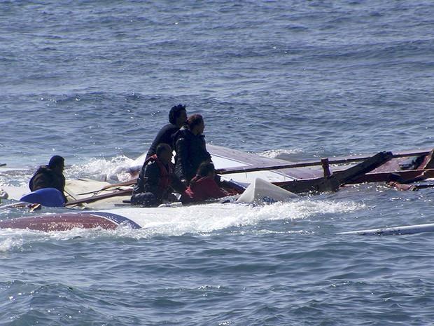 Naufrágios deixaram mais de 1.200 mortos em abril. (Foto: Reuters)