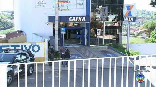 Única agência da Caixa de Jarinu volta a funcionar após ataque de quadrilha