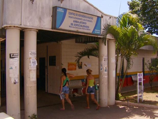 Pronto Atendimento do bairro Matão em Sumaré (SP) (Foto: Reprodução / EPTV)