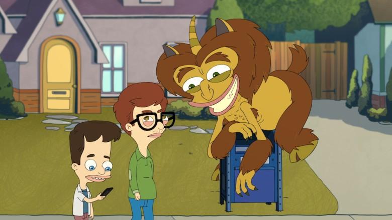 Andrew, Nick e Maurice, o monstro hormonal (Foto: Divulgação)