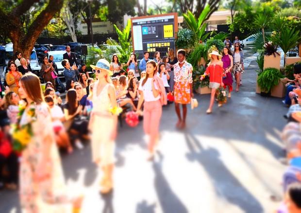 Desfile Flower Market 2016 (Foto: Reprodução)