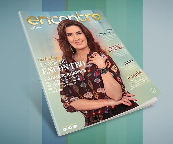 Revista digital - Dois anos de Encontro (Foto: TV Globo)