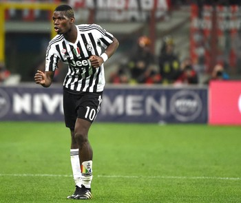Pogba comemora gol Juventus (Foto: EFE/EPA/DANIEL DAL ZENNNARO)