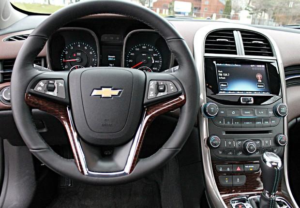 Chevrolet Malibu 2013 (Foto: Alberto Cataldi / Autoesporte)