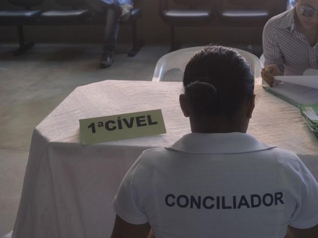 Semana da Conciliação intermediará 3 mil processos no Amapá (Foto: John Pacheco/G1)