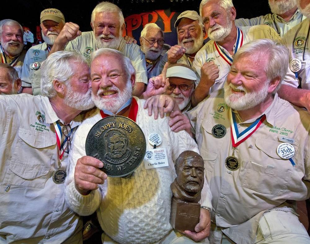 (Foto: Hemingway Look-Alike Society 2015/Divulgação)