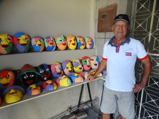 José Pedro lucra cerca de R$ 10 mil durante o mês de fevereiro (Foto: Joalline Nascimento/G1)