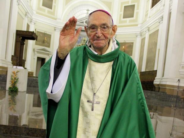 Dom Altamiro Rossato morreu em Porto Alegre aos 88 anos (Foto: Divulgação/Arquidiocese de Porto Alegre)