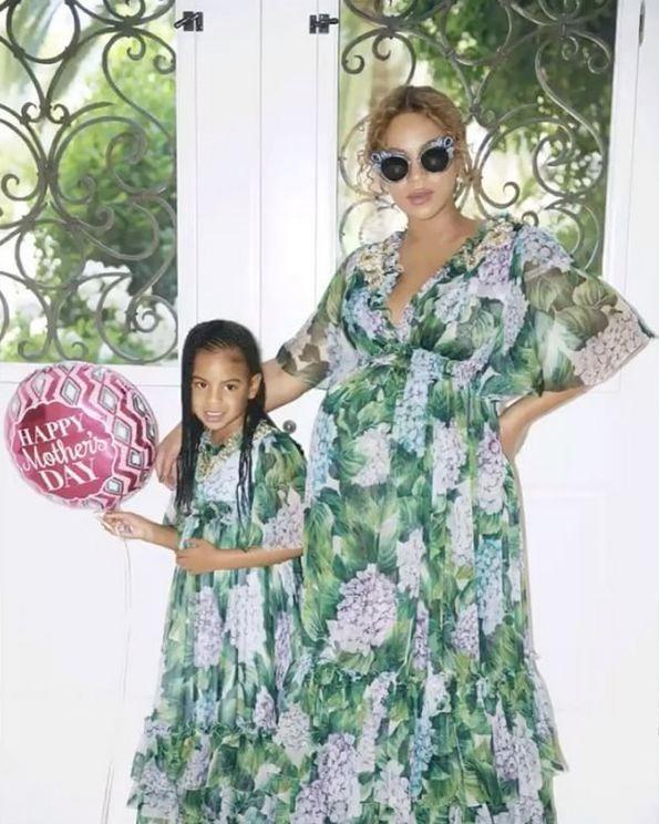Beyoncé e Blue Ivy Carter (Foto: Reprodução Instagram)