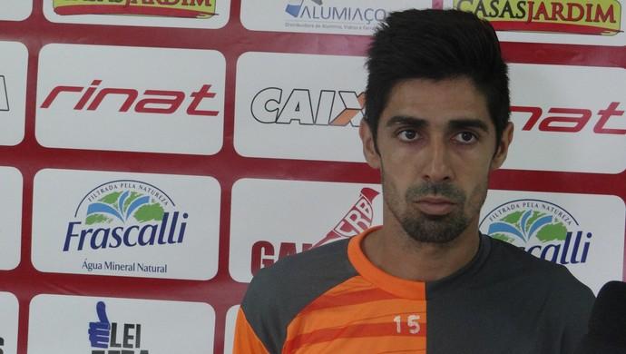 Flavinho CRB (Foto: Denison Roma / GloboEsporte.com)