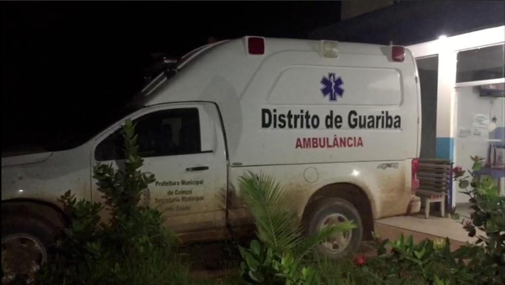 Corpos de vítimas são levados para Colniza (Foto: Reprodução/TVCA)