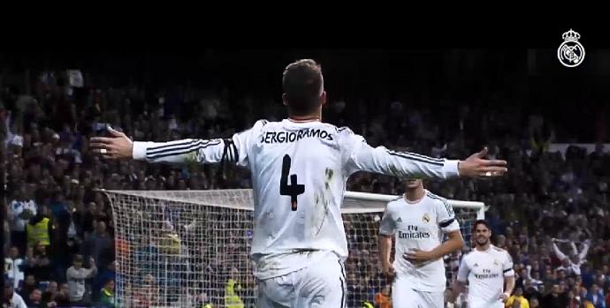 Sergio Ramos vídeo Real Madrid