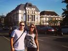 Mayra Cardi curte lua de mel na Alemanha
