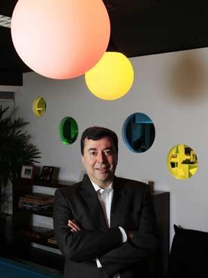 Em imagem registrada em junho de 2011, Fábio Coelho na sede da empresa, localizada na Avenida Faria Lima. (Foto: Tiago Queiroz/AE)