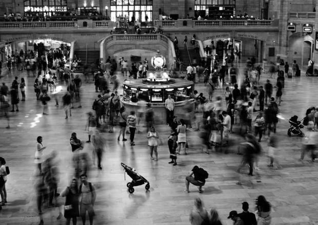 Foto da Grand Central Station, feita por Brooklyn Beckham (Foto: Divulgação/Brooklyn Beckham)