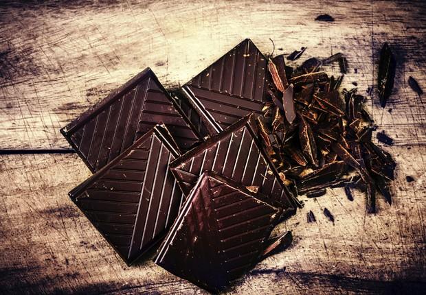 Chocolate meio amargo impulsiona foco e energia (Foto: Thinkstock)