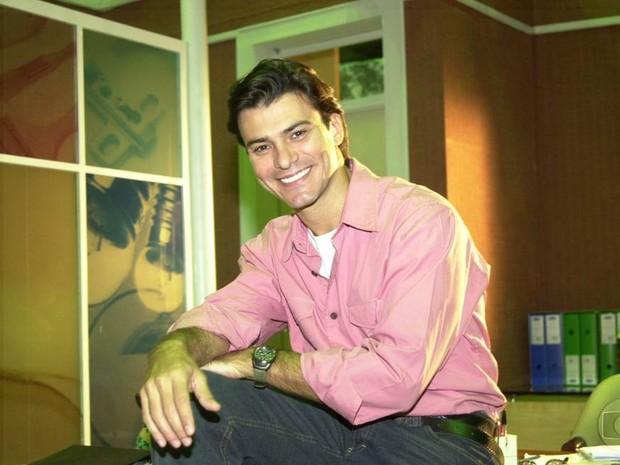 Leandro (Leonardo Vieira) em Senhora do Destino