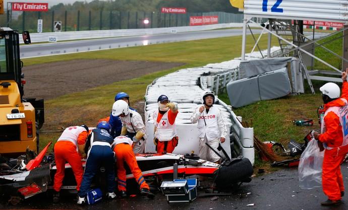 Jules Bianchi, no Japão (Foto: Getty)