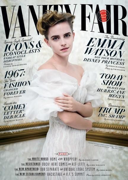 Capa da edição de março da revista norte-americana 'Vanity Fair' (Foto: Reprodução/Vanity Fair)