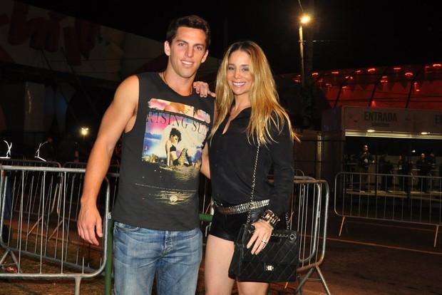 Danielle Winits e Amaury Nunes (Foto: Roberto Teixeira / EGO)