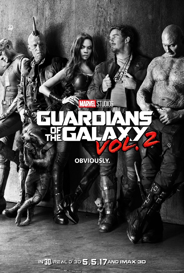 """Novo pôster de """"Guardiões da Galáxia: Volume 2"""" (Foto: Divulgação)"""