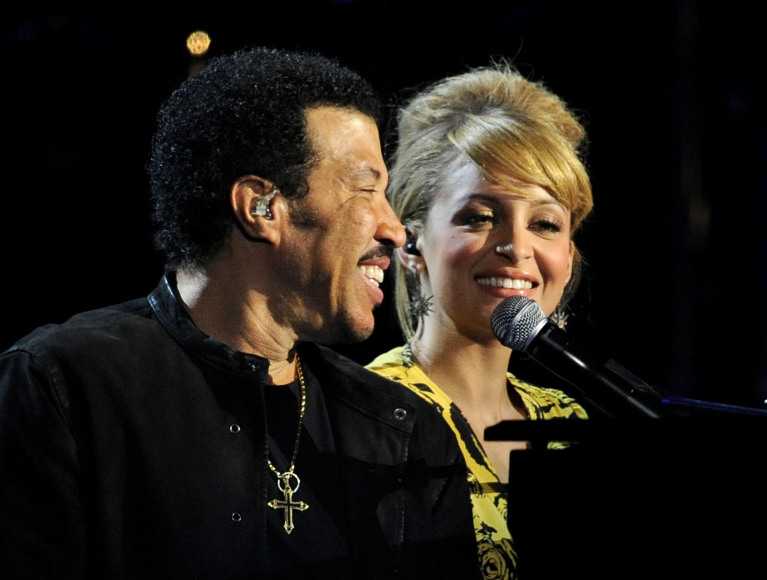 Nicole Richie e Lionel Richie (Foto: Getty Images)