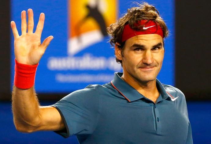 Tênis Austrálian Open Federer  (Foto: Reuters)