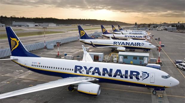 Avião da RyanAir (Foto: Reprodução)