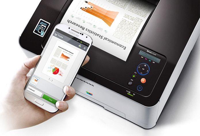 Samsung lançou a impressora com tecnologia NFC (Foto: Divulgação) (Foto: Samsung lançou a impressora com tecnologia NFC (Foto: Divulgação))