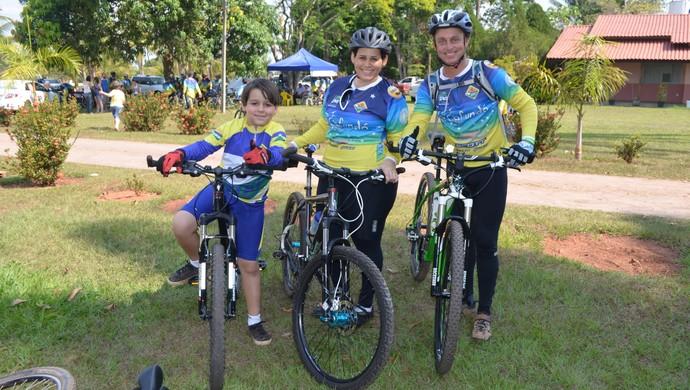 João Pedro e família participaram do 5º Cafundó (Foto: Magda Oliveira)