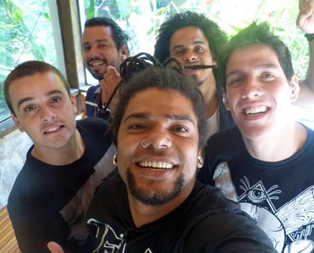 Banda Onze:20 vai cantar seus hits no Mais Você (Foto: Mais Você/TV Globo)