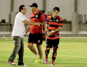Francisco Diá, Jefferson Recife, Neto, Campinense (Foto: Nelsina Vitorino / Jornal da Paraíba)