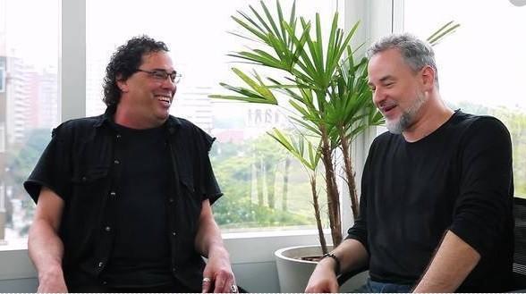 Walter Casagrande Jr e Dan Stulbach (Foto: reprodução)