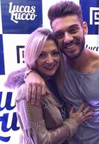 Mãe de Lucas Lucco comemora estreia do cantor em 'Malhação'