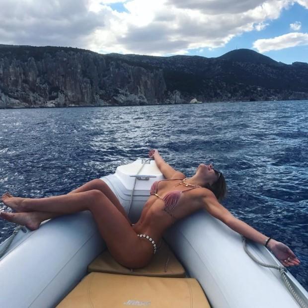 Marina Goldfarb na Itália (Foto: Reprodução/Instagram)
