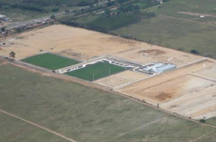 vista aérea do ct do americano, em guarus (Foto: Divulgação)
