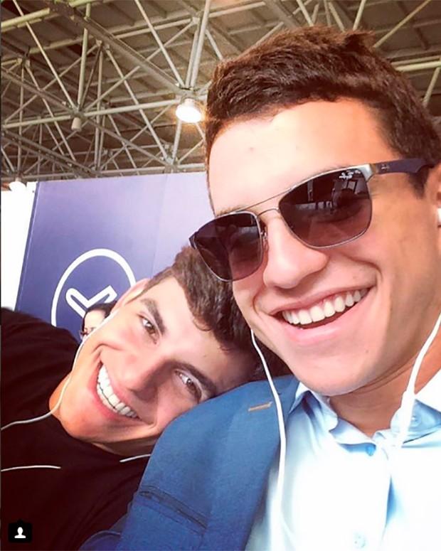 os ex-BBBs Antonio e  Manoel Rafaski (Foto: Reprodução/ Instagram)