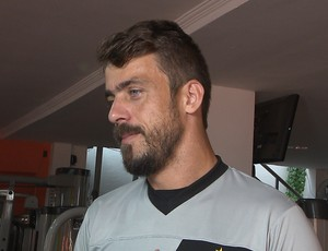 Michel Alves, goleiro do Botafogo-PB (Foto: Reprodução / TV Cabo Branco)
