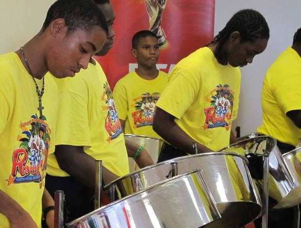 Tour da Taça Ilhas Virgens Americanas steel drum (Foto: Diogo Venturelli)