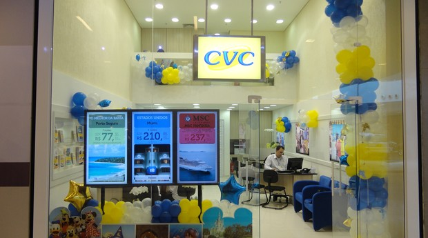 Agência da CVC (Foto: Divulgação)